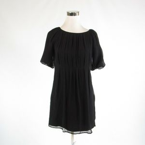 Black  COUTURE COUTURE sheer overlay shift dress S
